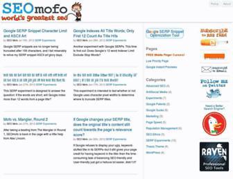 seomofo.com screenshot