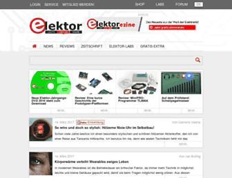 elektormagazine.de screenshot