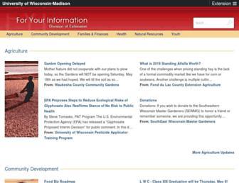 fyi.extension.wisc.edu screenshot