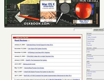 osxbook.com screenshot