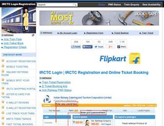 Thumbshot of Irctc-login.net