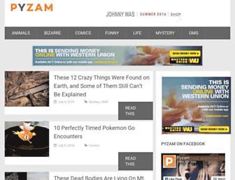 Thumbshot of Pyzam.com
