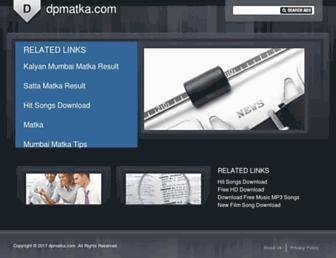 dpmatka.com screenshot