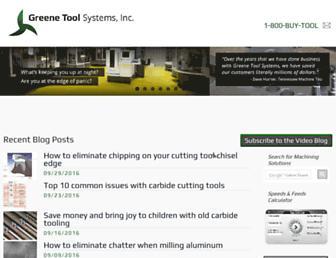 greenetool.com screenshot