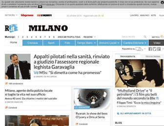 milano.repubblica.it screenshot