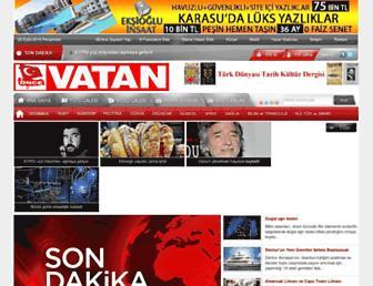 oncevatan.com.tr screenshot