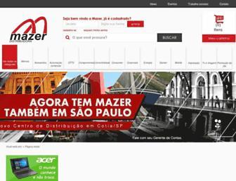 mazer.com.br screenshot
