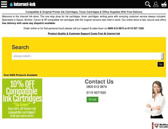 internet-ink.com screenshot
