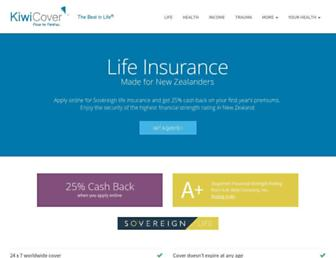 kiwicover.co.nz screenshot