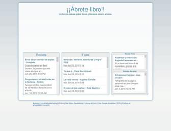 Thumbshot of Abretelibro.com