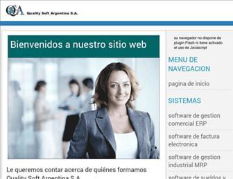 qualitysoftargentina.com screenshot