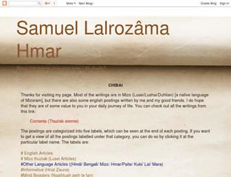 samuellalrozama.blogspot.com screenshot