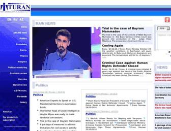 turan.az screenshot