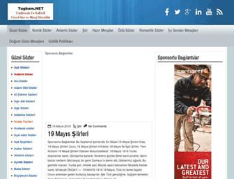 guzelsozler.tugbam.net screenshot