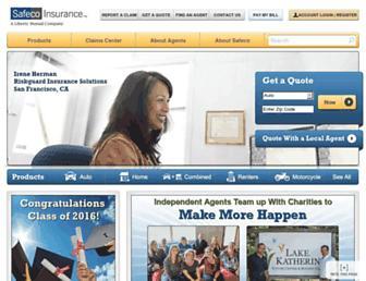 safeco.com screenshot