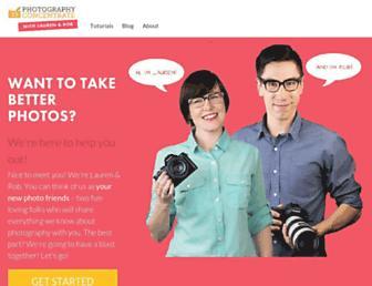 photographyconcentrate.com screenshot