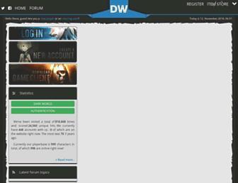 darkworldrappelz.com screenshot