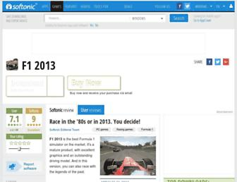 f1-2013.en.softonic.com screenshot