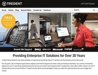 tredent.com screenshot
