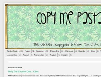 copymepasta.com screenshot