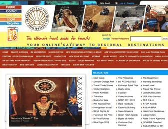 visitmyphilippines.com screenshot