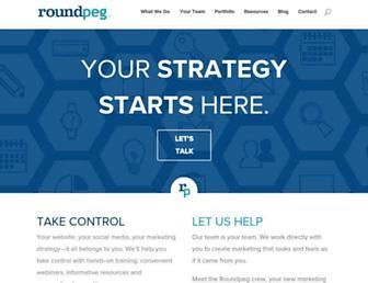 roundpeg.biz screenshot