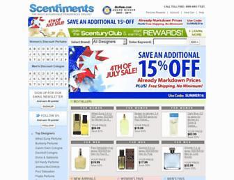 Thumbshot of Scentiments.com