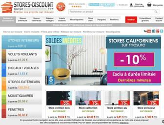 stores-discount.com screenshot