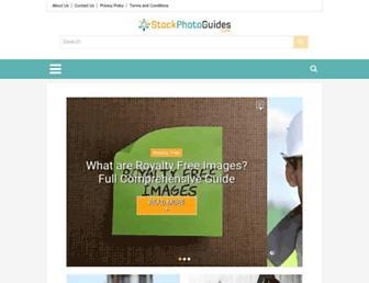 stockphotoguides.com screenshot