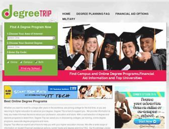 Thumbshot of Degreetrip.com