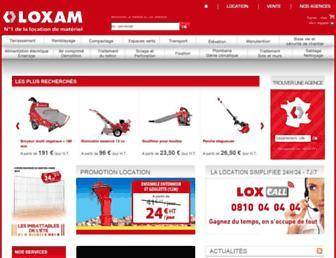 Thumbshot of Loxam.fr