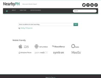 nearbyph.com screenshot