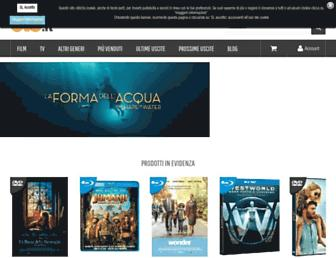 Main page screenshot of recensioni-videogiochi.dvd.it