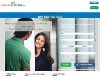 indianfriendsdate.com screenshot
