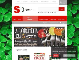 Main page screenshot of sonda.it