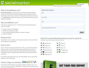 Thumbshot of Socialmarker.com