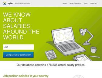 paylab.com screenshot