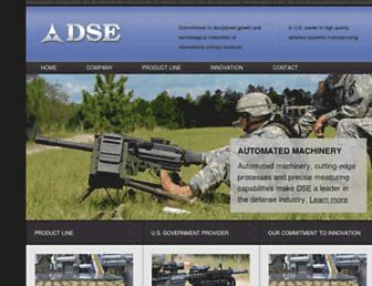 Main page screenshot of dse.net