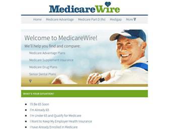 medicarewire.com screenshot