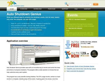 autoshutdown.org screenshot