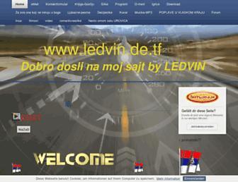ledvin.beepworld.de screenshot