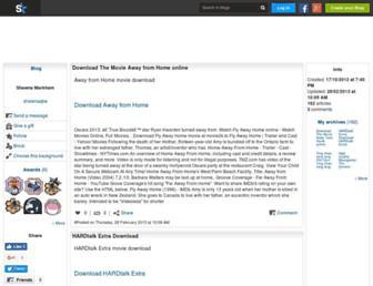 shawnaqbe.skyrock.com screenshot