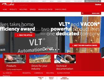 drives.danfoss.us screenshot