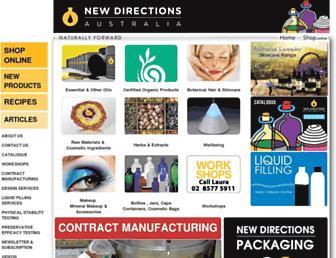 newdirections.com.au screenshot