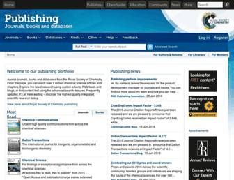 pubs.rsc.org screenshot