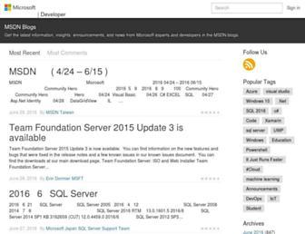 blogs.msdn.com screenshot