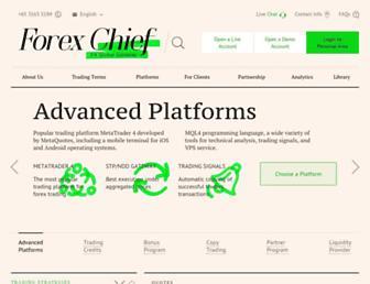 forexchief.com screenshot
