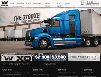 westernstartrucks.com screenshot