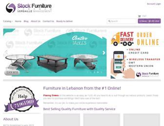 stock-furniture.com screenshot