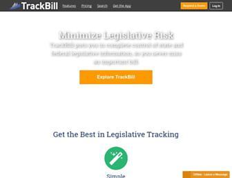 trackbill.com screenshot